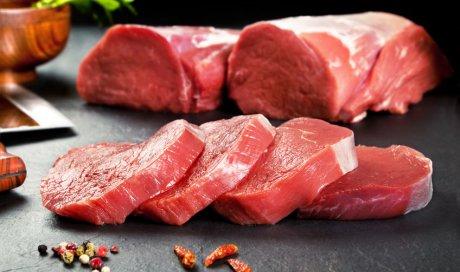 Vente de viande rouge